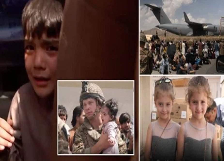 افغانستان سے ہجوم اور افراتفری میں 200 بچے والدین کے بغیر قطر پہنچ گئے