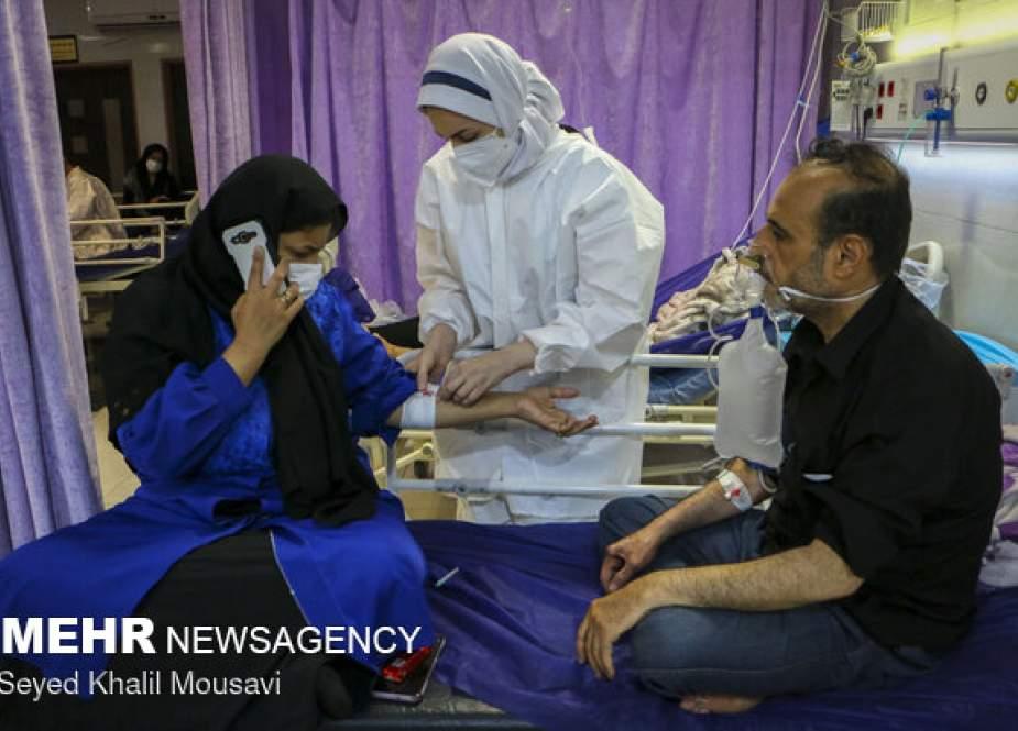 Update COVID-19 Iran: 20.219 Kasus baru, 487 Kematian Dalam 24 Jam