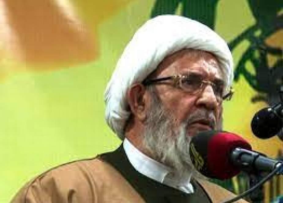 Sheikh Mohammad Yazbek, Hezbollah official.jpeg