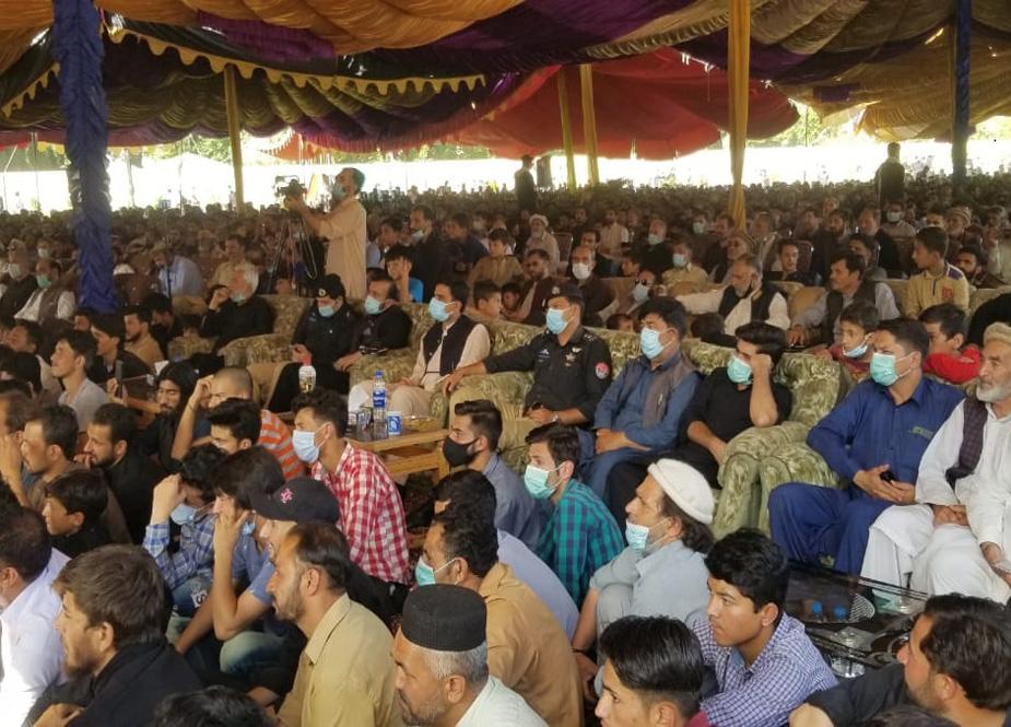 یوم حسین کے پرووگرام میں شہریوں کی کثیر تعداد شریک ہوئی