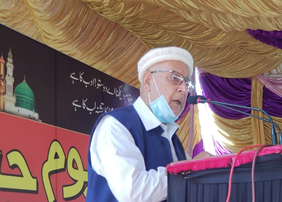 اسماعیلی کمیونٹی کے سکالر الواعظ فدا علی ایثار