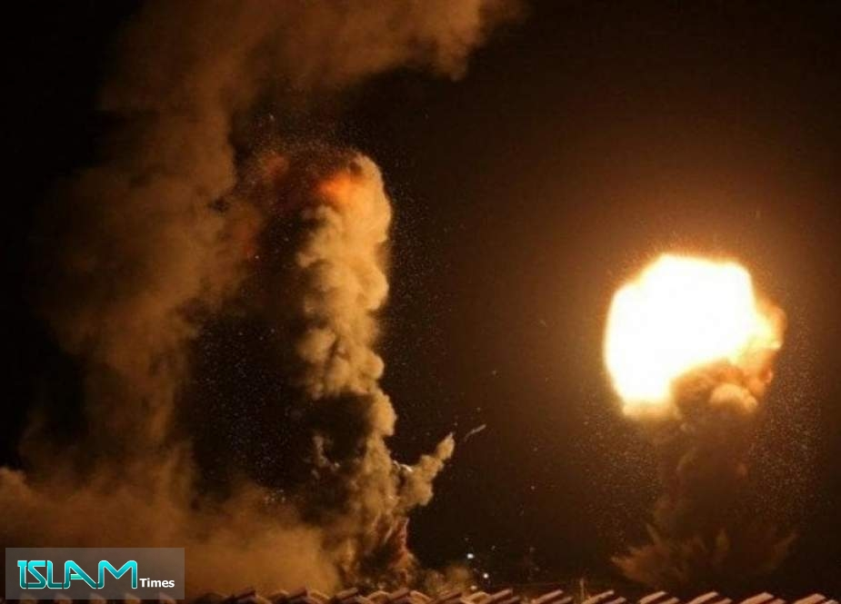 Resistance Bases across Gaza Attacked by Israeli Warplanes, UAVs