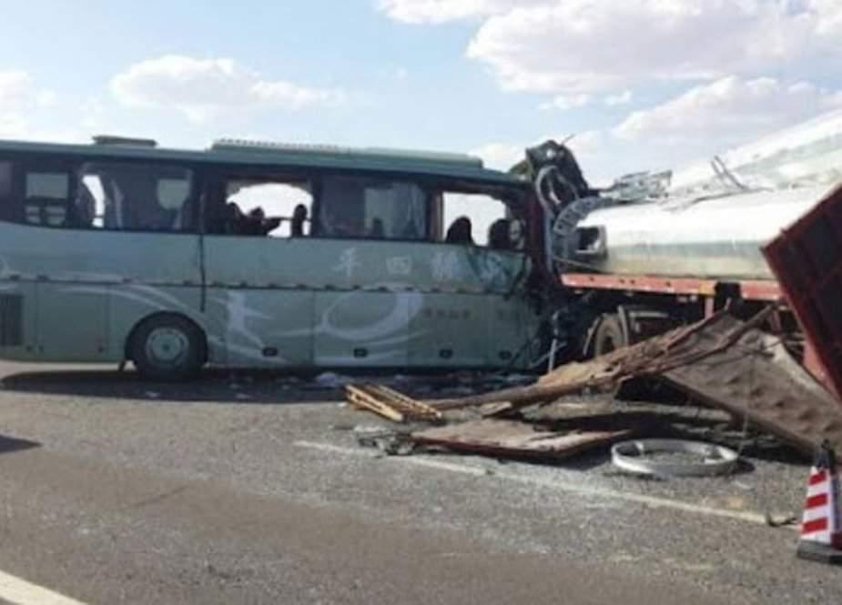 الجیریا میں بس کو حادثہ،  13 افراد ہلاک