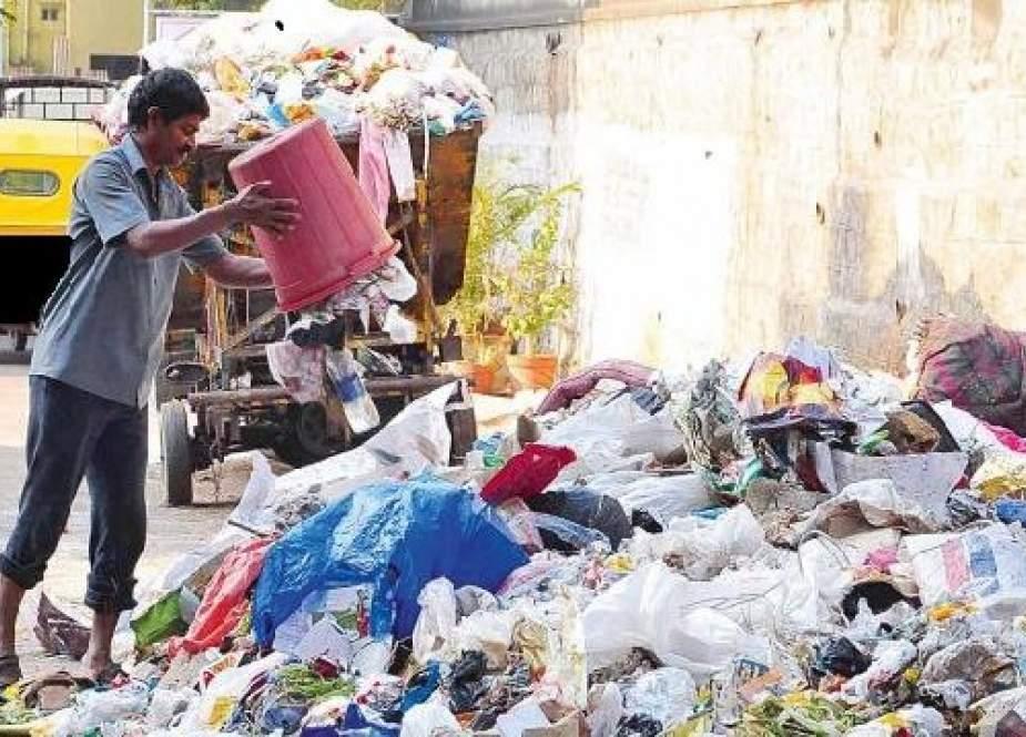 کراچی کچرے کا ڈھیر بننے کا خدشہ