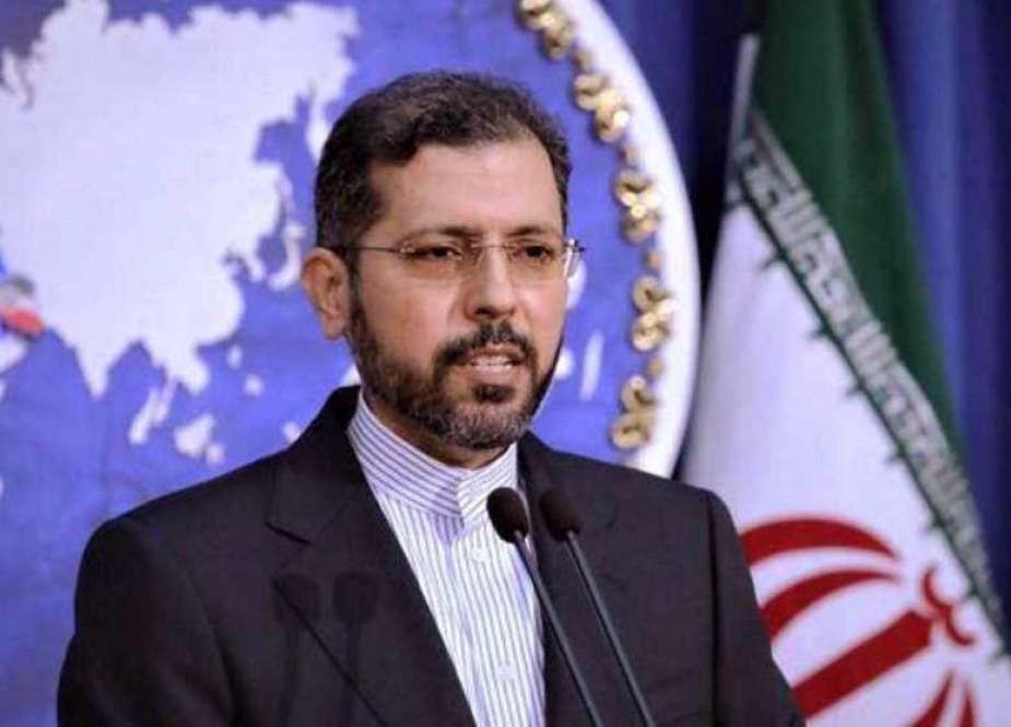 Saeed Khatibzadeh- Iranian Foreign Ministry Spokesman