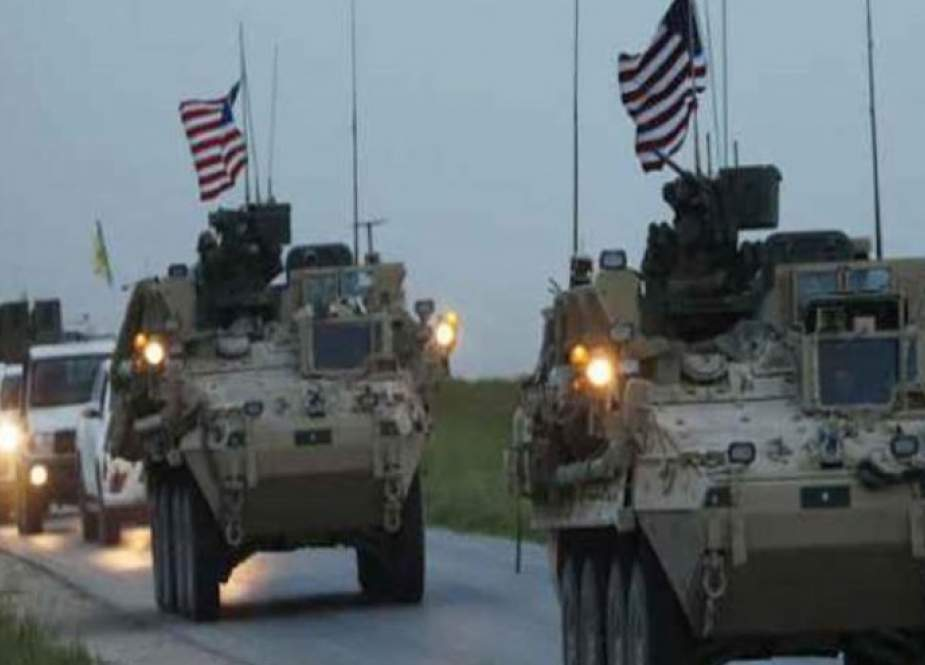 امريكا تنقل تعزيزات عسكرية لقواعدها غير الشرعية بريف الحسكة