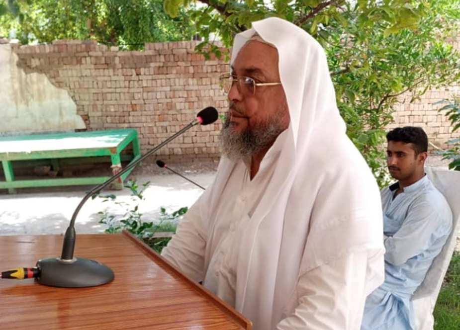 ڈیرہ اسماعیل خان، علامہ رمضان توقیر کیجانب سے محرم کے پرامن اختتام پر تقریب