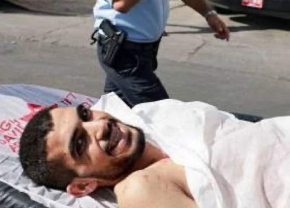 Bassel Shawamera, the Palestinian teenager.jpg