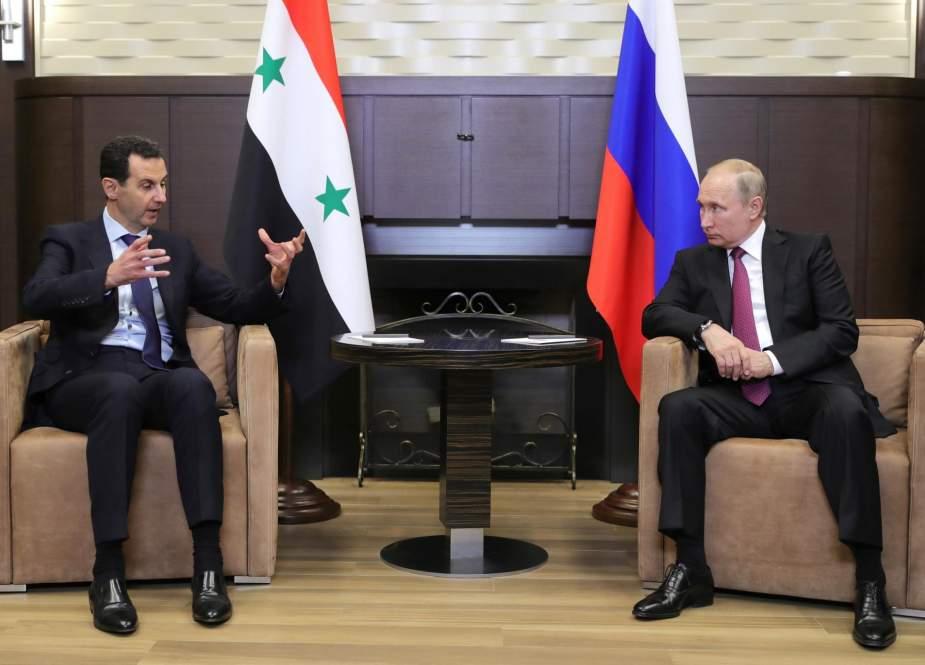 قمة روسية سورية غير معلنة في الكرملين