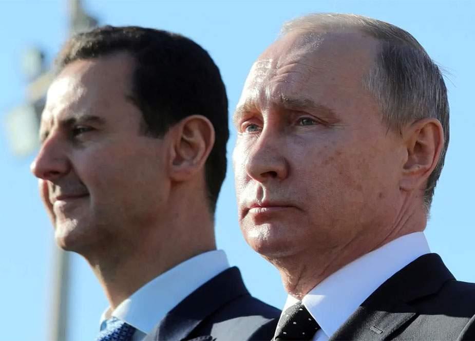 Putin və Əsəd bunları müzakirə etdi - Peskov