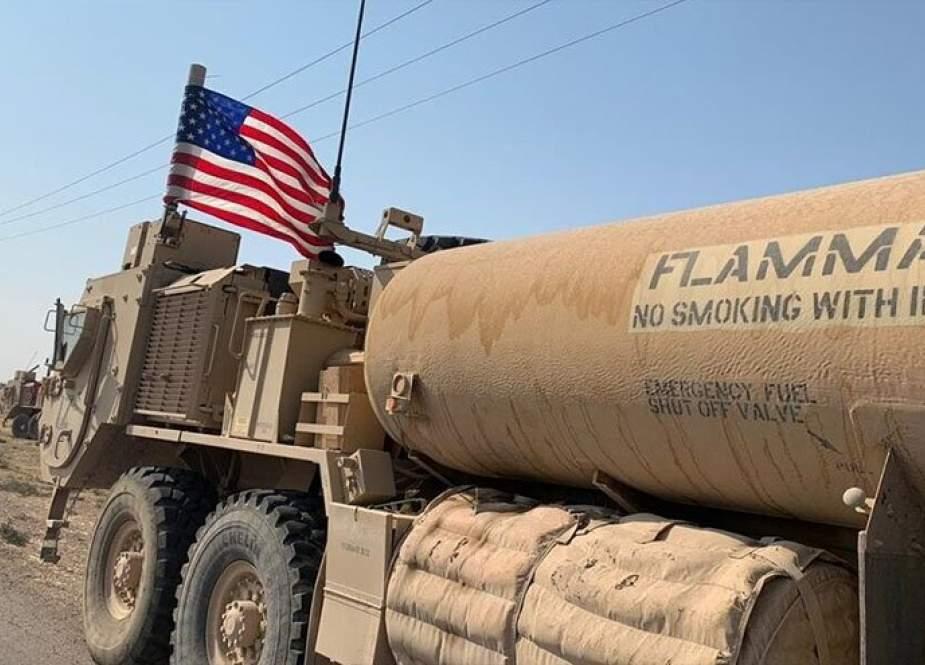 أمريكا تسرق دفعة جديدة من النفط السوري الى العراق