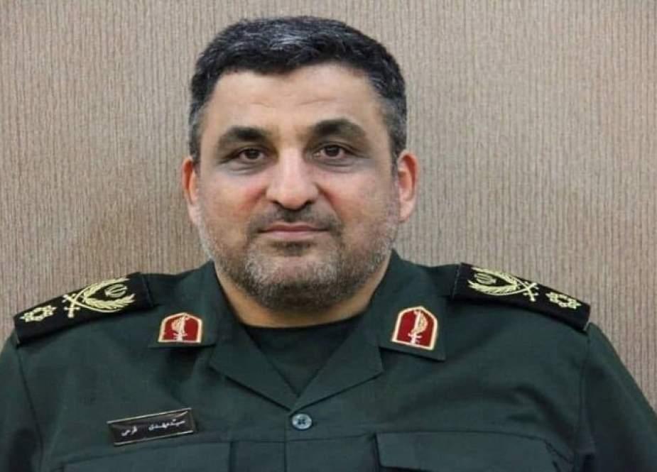 العميد مهدي فرحي نائبا لوزير الدفاع الإيراني