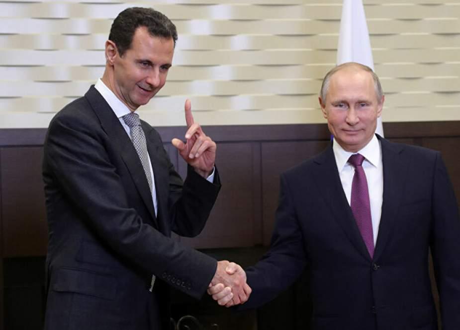 الأسد في الكرملين.. فماذا أنتم فاعلون؟!