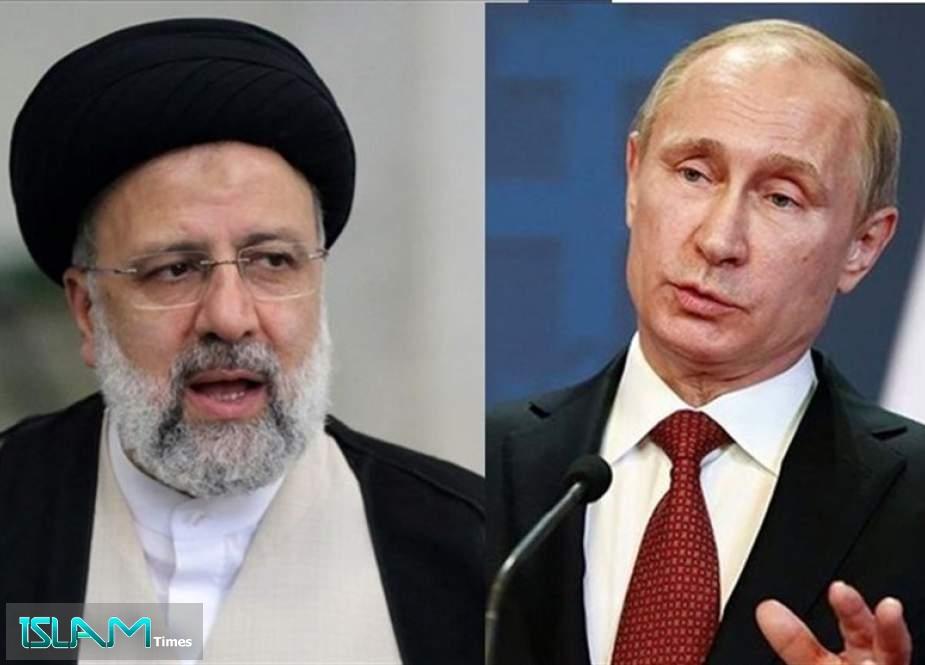 Presidents Discuss Iran-Russia Cooperation in COVID Vaccine Production