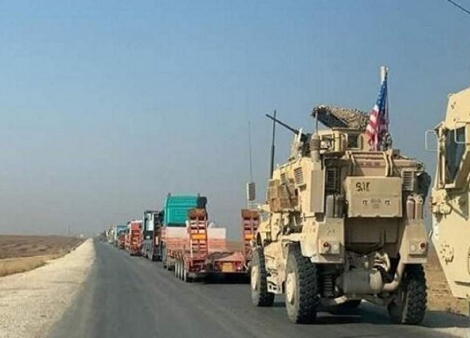Konvoi Logistik Militer Baru AS Memasuki Suriah