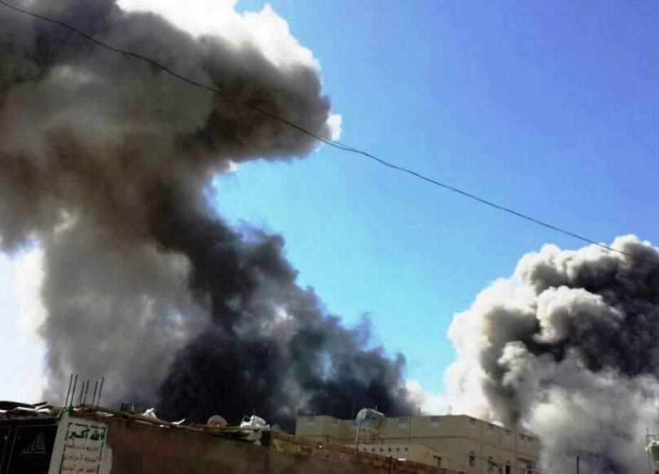 طيران العدوان السعودي يشن 35 غارة على المحافظات اليمنية