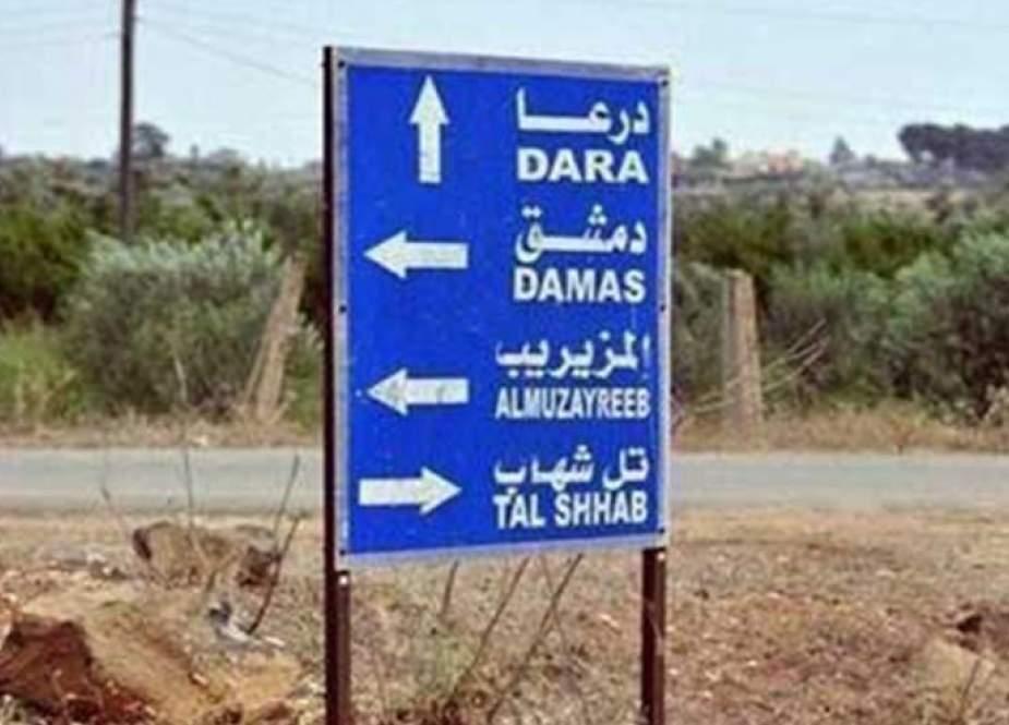 سوريا.. بدء تنفيذ اتفاق التسوية في مزيريب بريف درعا