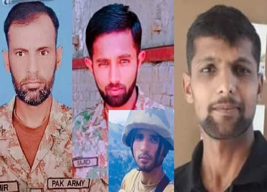 کالعدم ٹی ٹی پی کے دہشتگردانہ حملے میں 7 جوان شہید، 4 زخمی