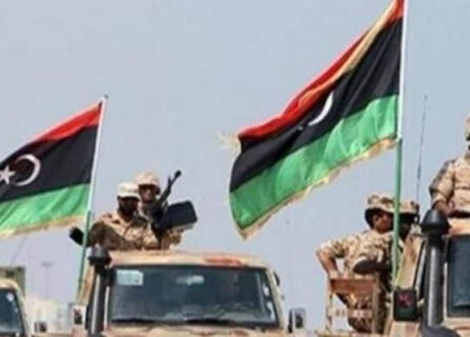 ليبيا.. عمليات عسكرية برية لتمشيط منطقة تربو جنوب البلاد