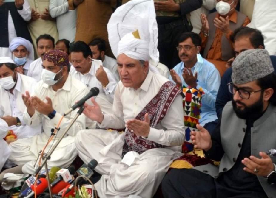 کچھ طاقتیں پاکستان میں نقص امن اور انتشار پھیلانا چاہتی ہیں، شاہ محمود قریشی
