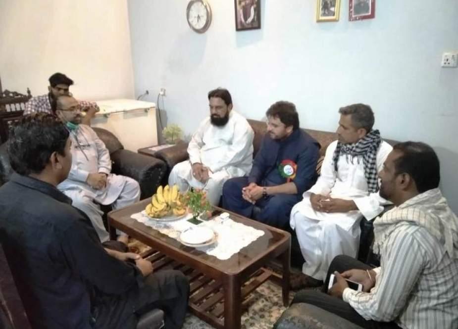 ملتان، ناصر عباس شیرازی اور مفتی گلزار نعیمی کی سلیم عباس صدیقی سے ملاقات، عیادت بھی کی