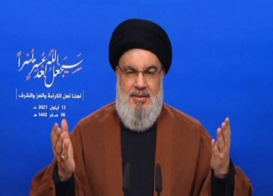Nasrallah Meminta Lebanon Untuk Menjauh Dari Konvoi Bahan Bakar Iran