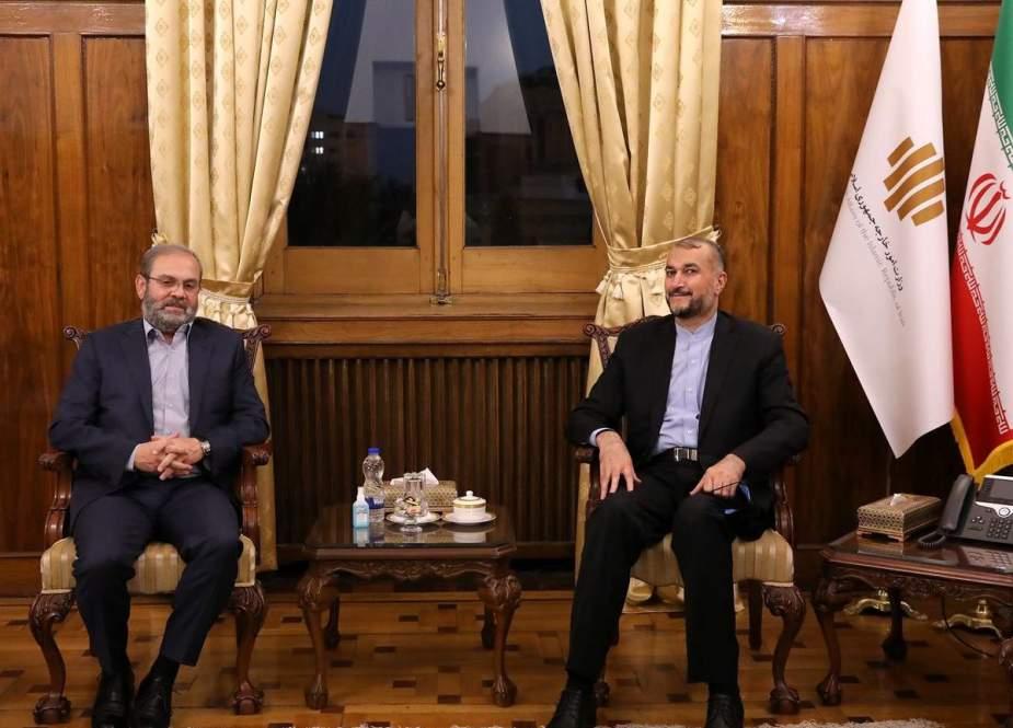 Amir-Abdollahian Menekankan Perluasan Hubungan Iran-Lebanon