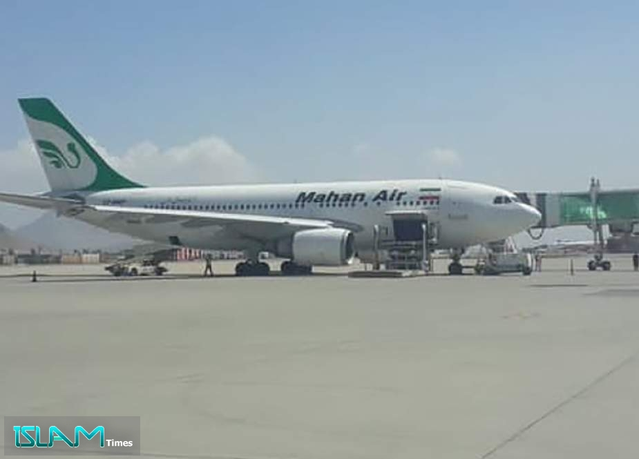 First Iranian Plane Carrying Humanitarian Aid Lands in Kabul
