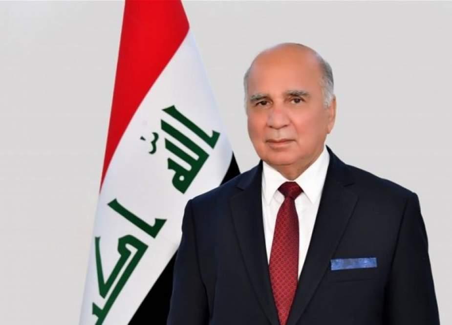 وزير خارجية العراق يصل الرياض