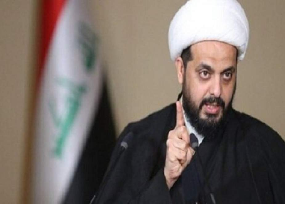 الشيخ الخزعلي: نفي امريكا استهداف الحشد الشعبي لا يعفيها من المسؤولية