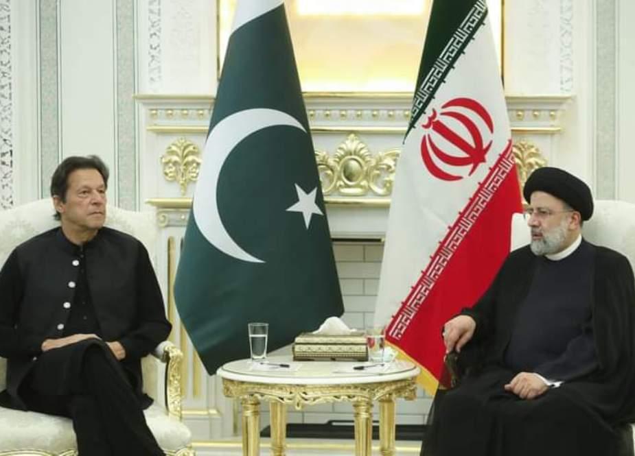 کشمیر پر حمایت، پاکستان اعلیٰ ایرانی قیادت کا معترف