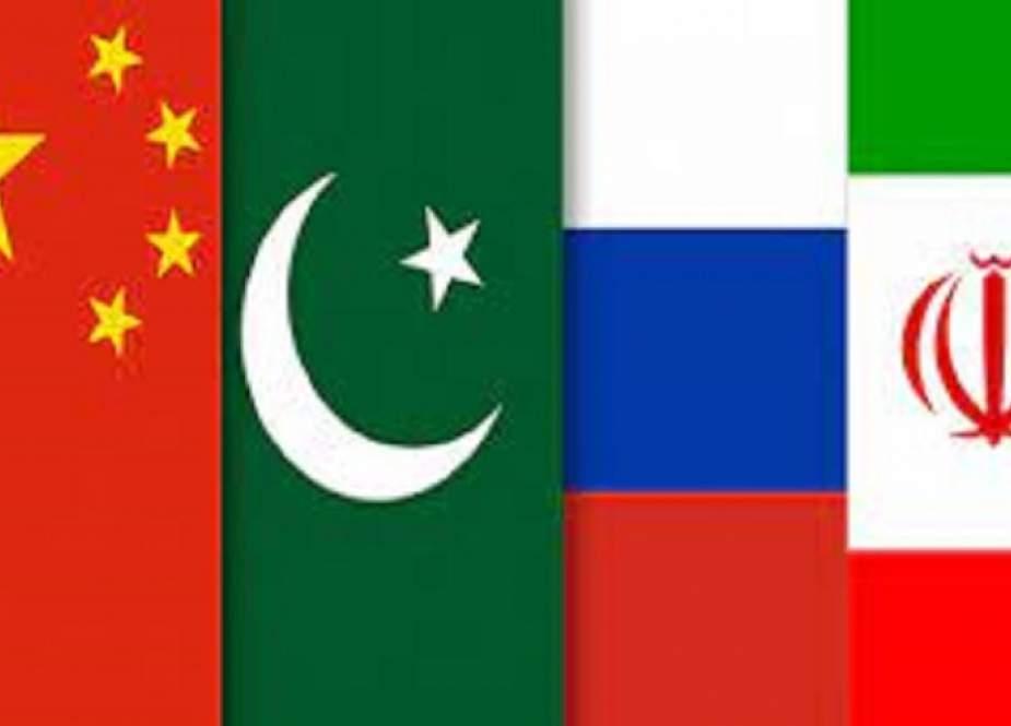 وزراء خارجية ايران والصين وروسيا وباكستان يجتمعون في دوشنبة