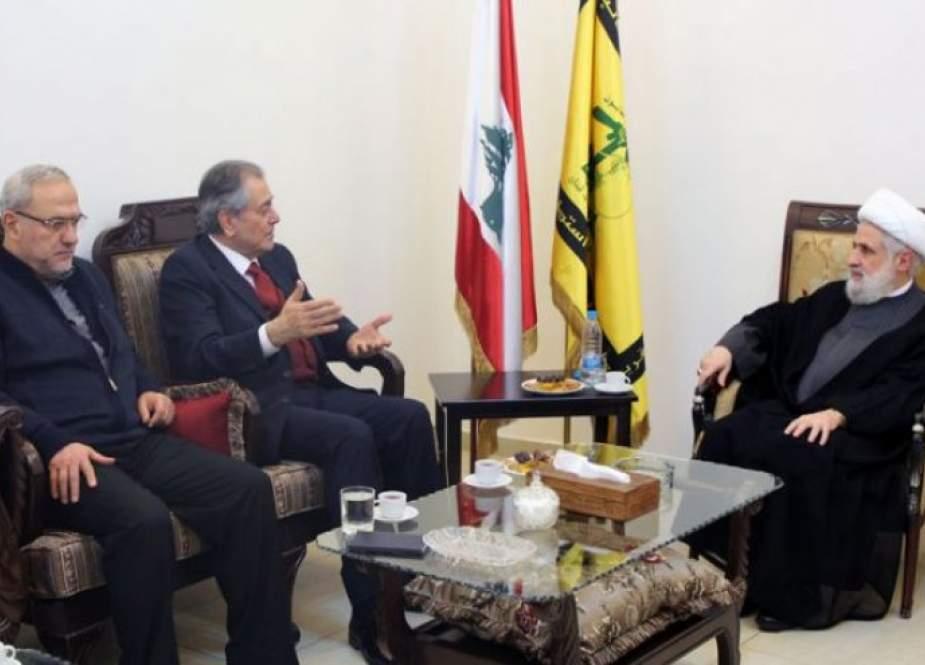 الشيخ نعيم قاسم: لضرورة عودة العلاقات الطبيعية بين لبنان وسوريا