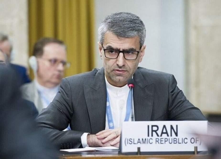 ایران تدعو الی محاكمة امریکا وحلفائها لفرض حظر یتجاوز الحدود الإقليمية