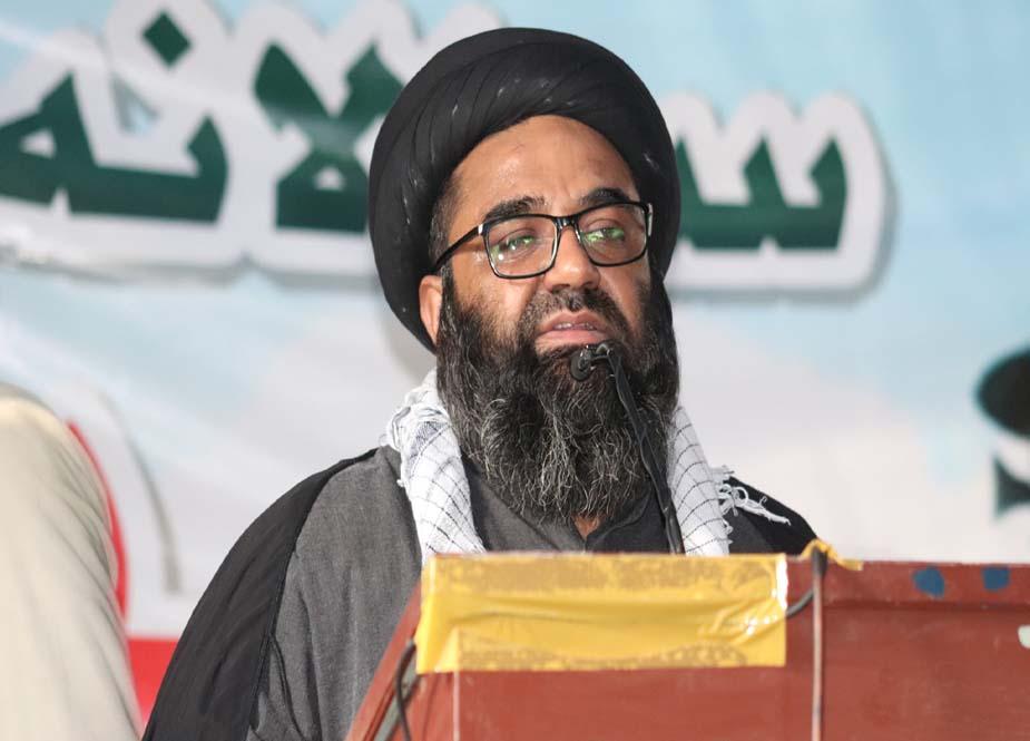 آئی ایس او کراچی جامعہ اردو کی جانب سے یوم حسینؑ کا انعقاد، اساتذہ سمیت طلبہ و طالبات کی شرکت