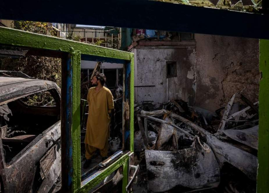 Rumah Ahmadi setelah serangan (ABC News).