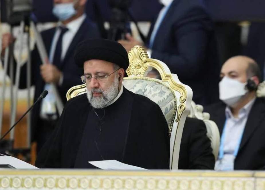 Ebrahim Raisi, Iranian President in Shanghai Cooperation Organization (SCO).jpg