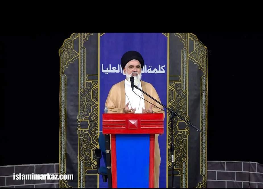 غالی مسلمان نہیں، شیعہ اپنے دامن سے اس غلاظت کو دھوئیں، علامہ جواد نقوی