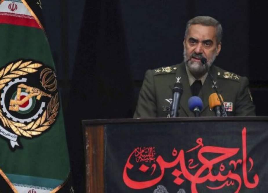 وزير الدفاع الايراني : العدالة هي الشرط الاساس لتحقيق السلام قي العالم