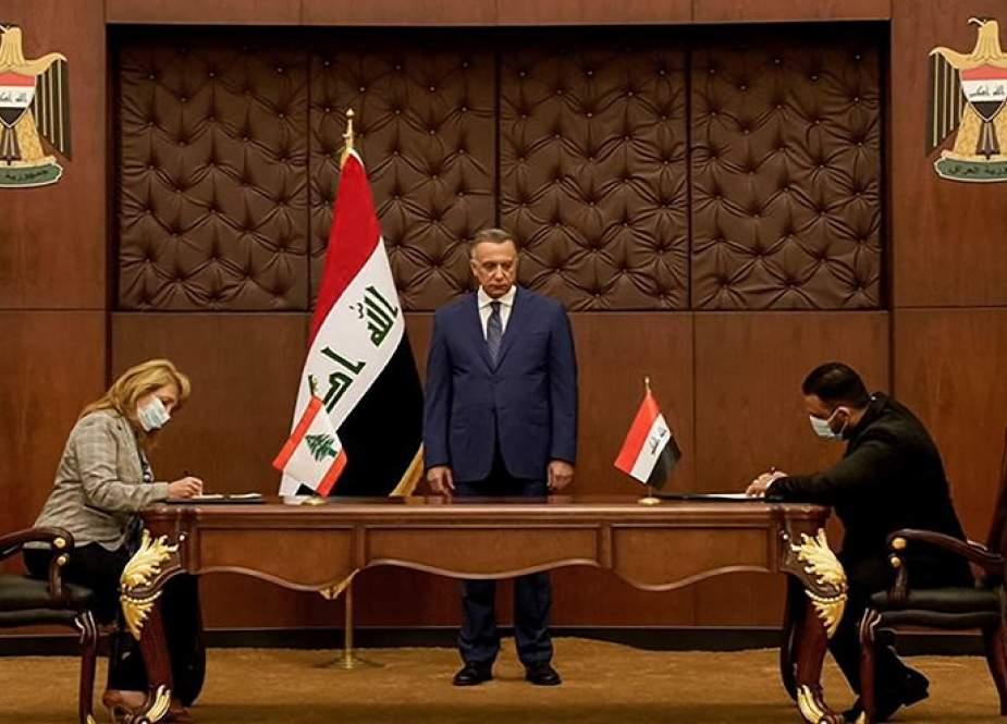 الكاظمي يتابع تطبيق اتفاقية إمداد لبنان بمليون طن من الوقود