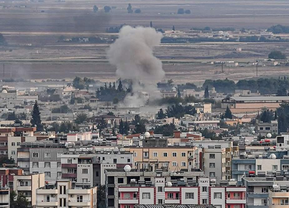 الجماعات المسلحة تستهدف بالمدفعية قرية الدردارة بريف الحسكة
