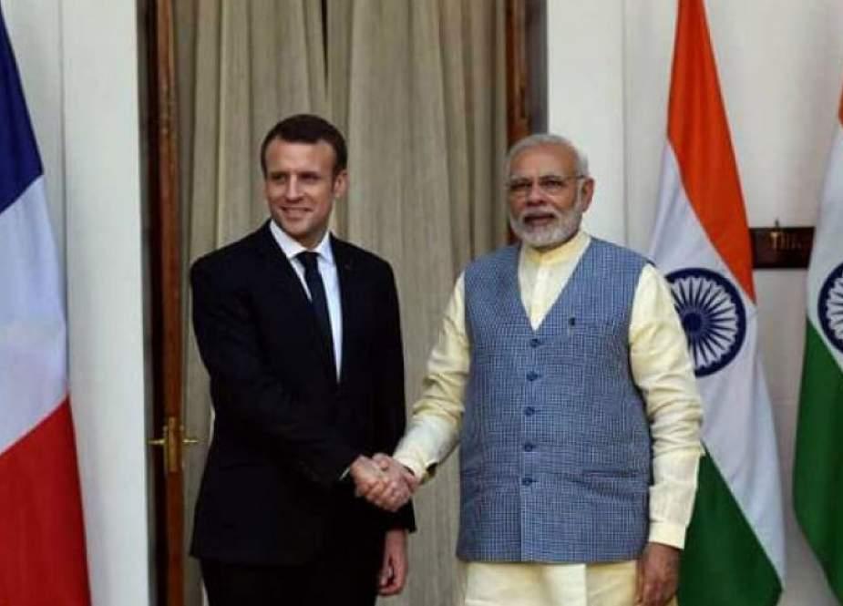 باريس تعمل مع الهند لترسيخ نظام دولي تعددي