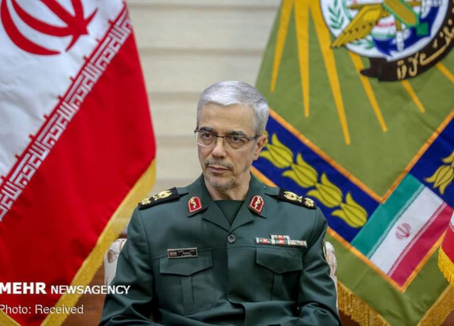 Bagheri Sekali Lagi Memperingatkan Kelompok Teroris Di Kurdistan Irak