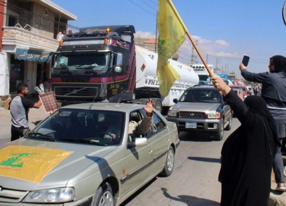 ناقلة وقود ايرانية ثالثة تتجه الى لبنان