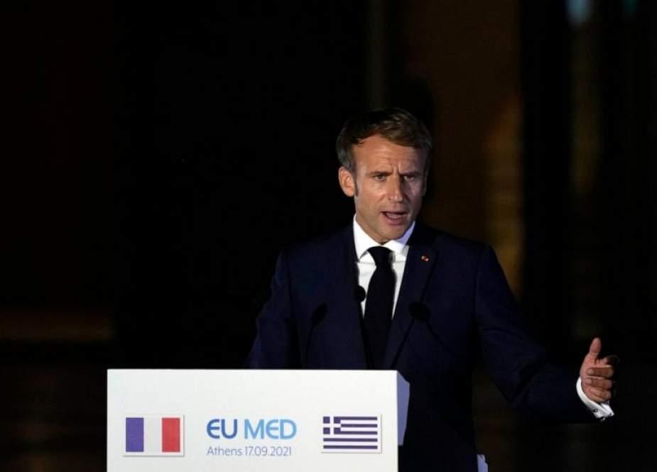 Emmanuel Macron (ABC News).