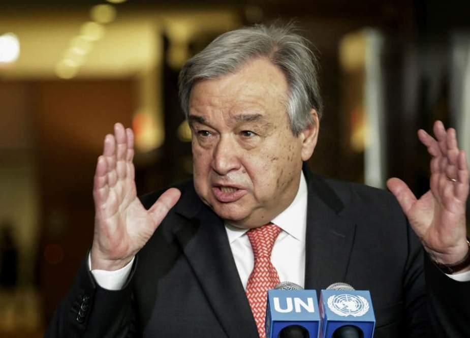 Antonio Guterres, United Nations Secretary-General at the UN headquarters in New York.jpg