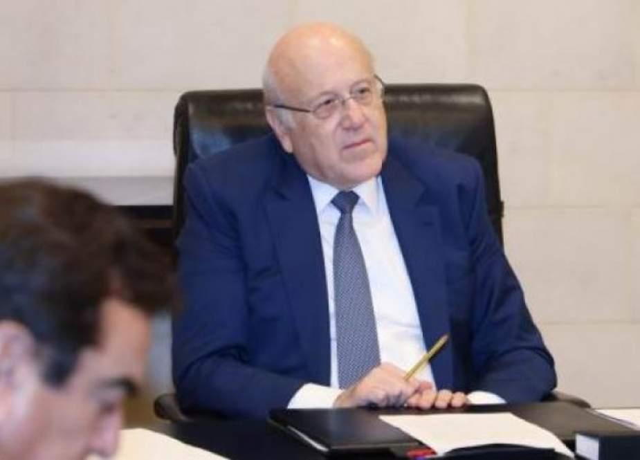 ميقاتي يطلب من مجلس النواب التعاون من اجل انقاذ لبنان