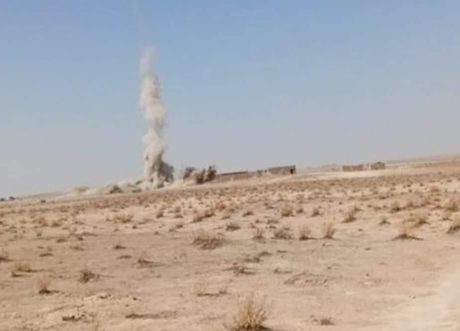 الحشد الشعبي العراقي يدمر معملا لتصفيح المفخخات