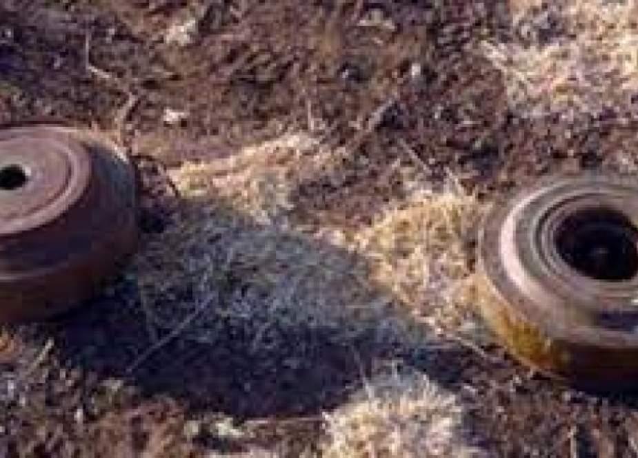 إصابة 3 أطفال بانفجار لغم بريف حماة