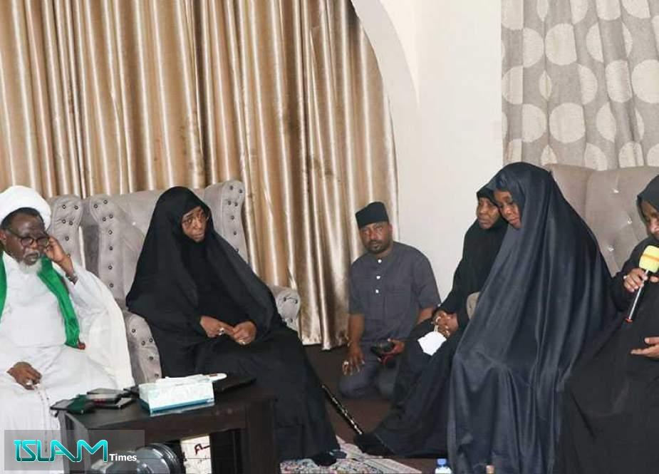 Sheikh Zakzaky Meets Families of Martyrs, Survivors of Zaria Massacre